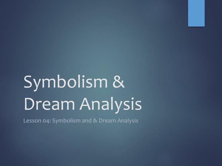 dream interpretation speech Introduction ii (reveal topic) a dream is amazing and the way one interprets it depends on who is having the dream iii (credibility statement)i have done a lot of research on the topic of dream interpretation and find that it varies from person to person.