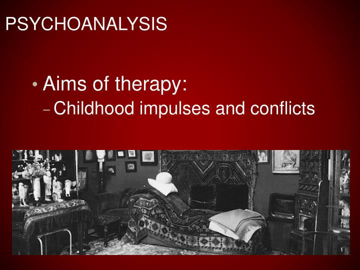 psychoanalysis therapy Over the years many people have questioned whether psychoanalysis really works it has especially come under attack in recent years, as psychotherapy has become controlled by insurance companies.