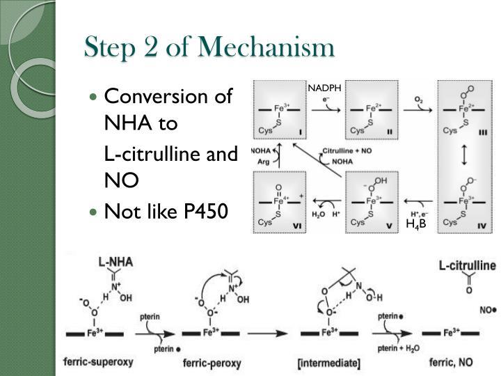 Step 2 of Mechanism