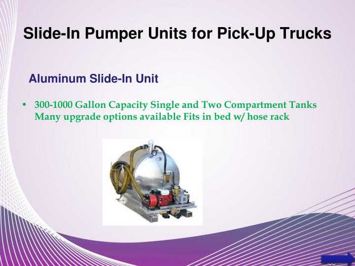 Ppt Slide In Pumper Units Powerpoint Presentation Id 1899350