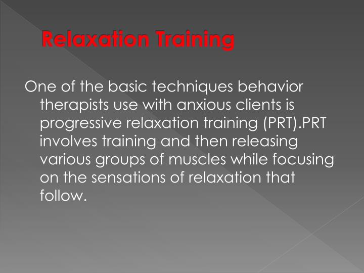 Relaxation Training