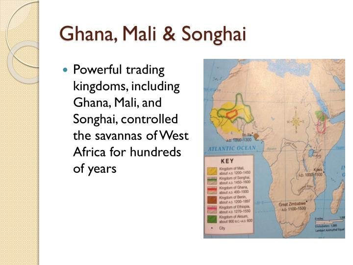 Songhai Africa Map.Ppt Empires Of Africa Ghana Mali Songhai Powerpoint