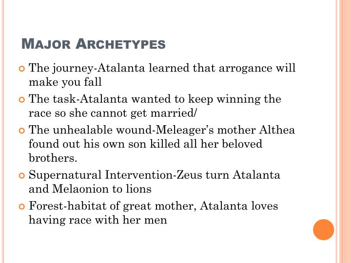 Major Archetypes