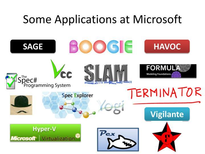 Some Applications at Microsoft