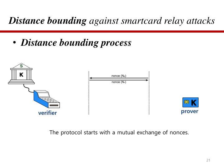 Distance bounding