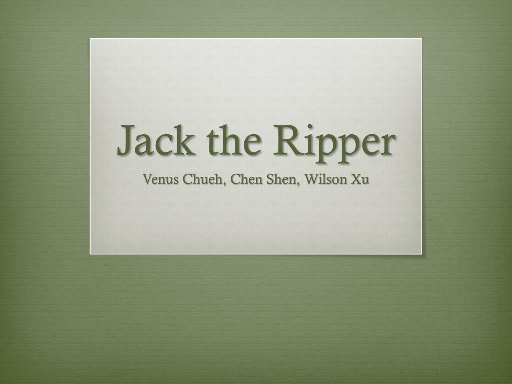 Introduction to jack the ripper by laumorrow teaching resources.
