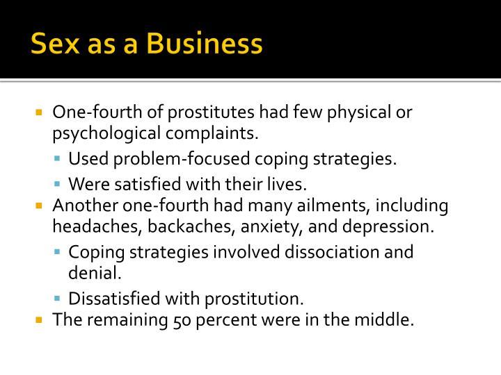 Sex as a Business
