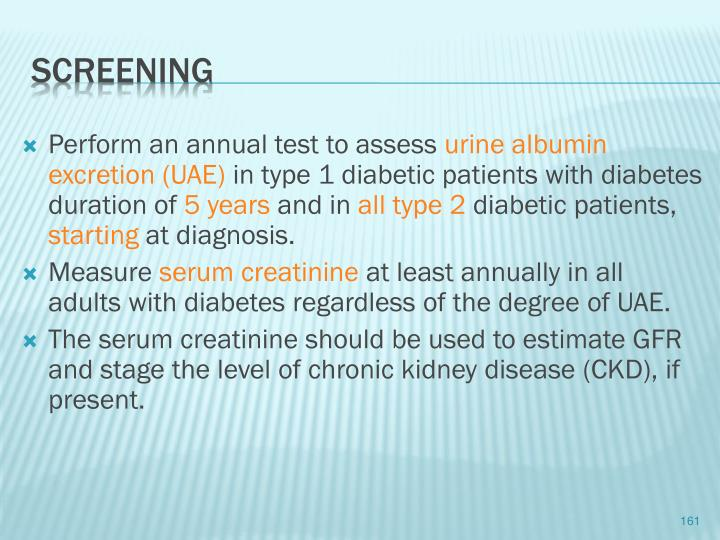 Perform an annual test to assess
