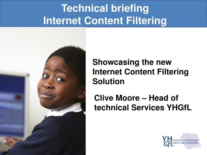 technical briefing internet content filtering n.
