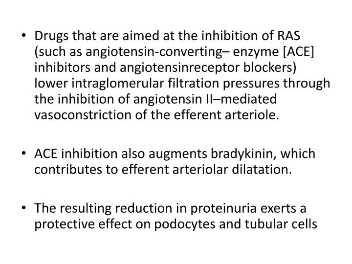 Drugs that are aimed at the inhibition of RAS (such as