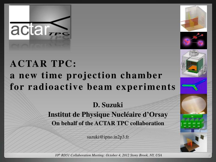 Actar tpc a new time projection chamber for radioactive beam experiments