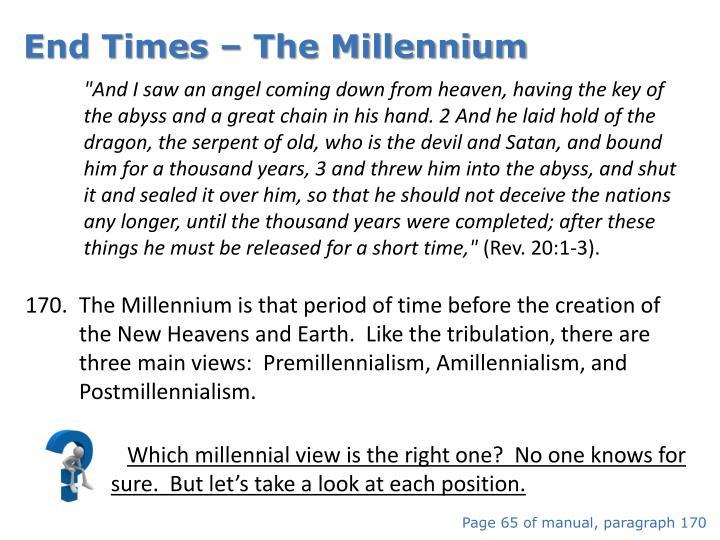 End Times – The Millennium