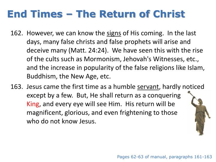 End Times – The Return of