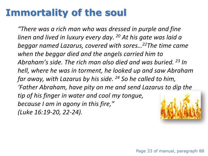 Immortality of