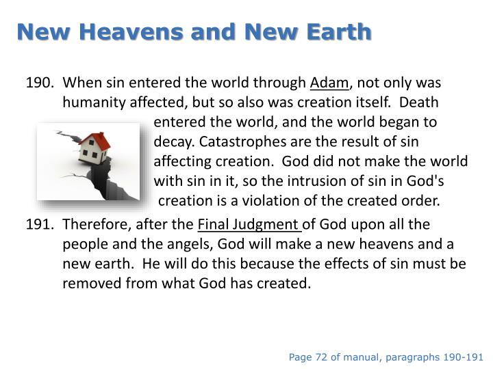 New Heavens and New Earth