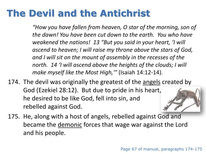 The Devil and the Antichrist