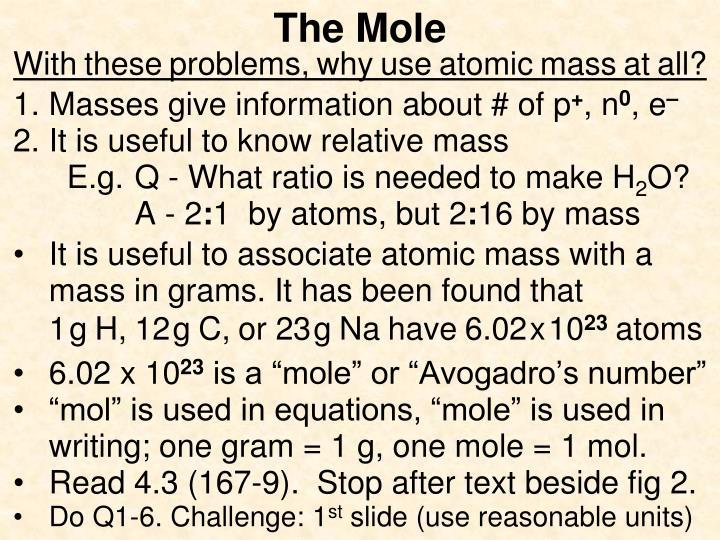 The mole1