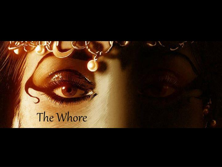 the whore n.