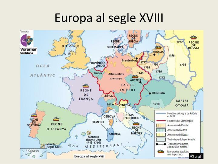 Europa al segle xviii