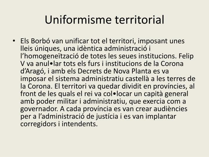 Uniformisme