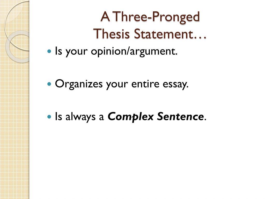 Defintion essays