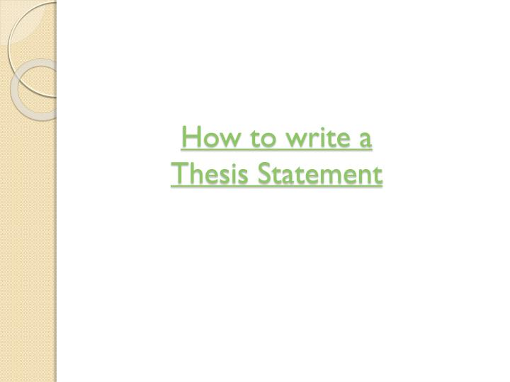 3 part thesis paper A strong thesis is essential to a good essay, as each paragraph of your essay should be related back to your thesis or else deleted thus, the thesis establishes the key foundation for your essay a strong thesis not only states an idea, but also uses solid examples to back it up.