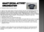 naacp social activist organization1
