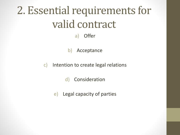 how to answer questions to intention to create legal relations Employment law question and answer  here it was held that once the contracting parties had the intention to create legal relations a contract of employment.