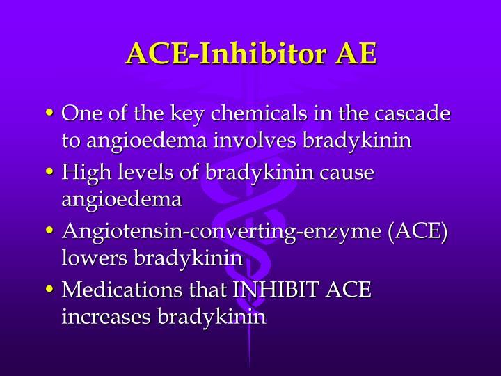 ACE-Inhibitor AE