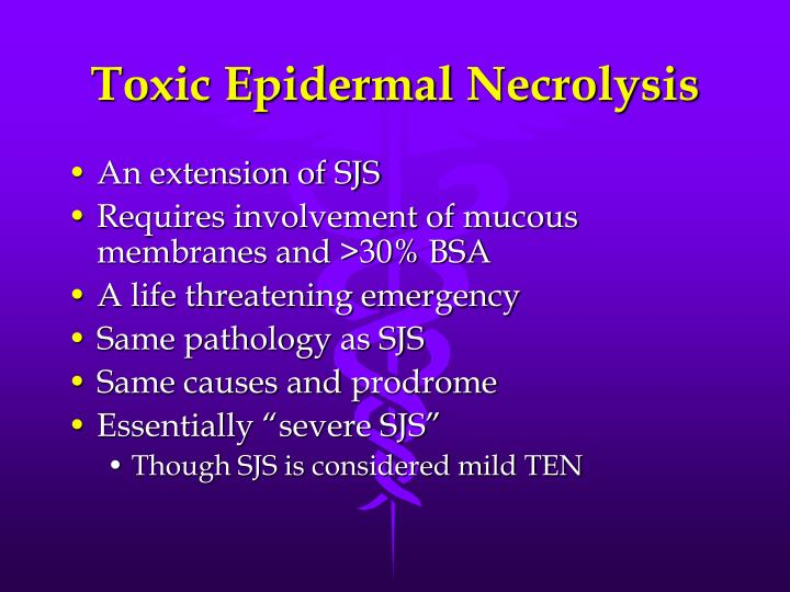 Toxic Epidermal