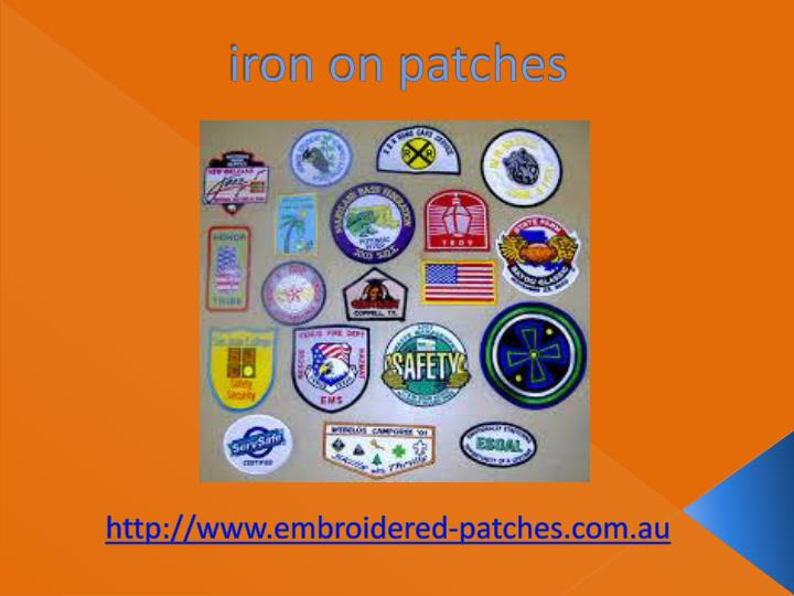 iron on patches n.