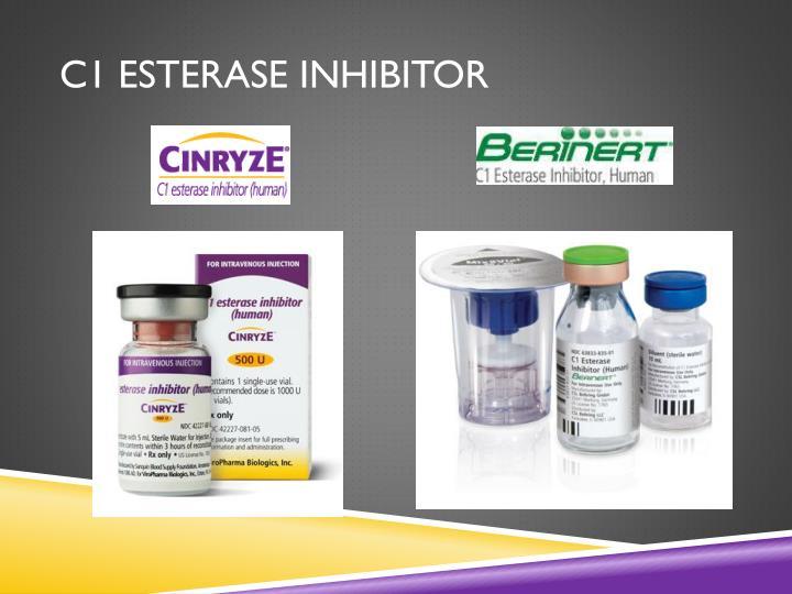 PPT - C1 esterase inhibitor (human) PowerPoint