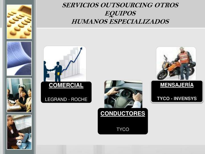 SERVICIOS OUTSOURCING OTROS