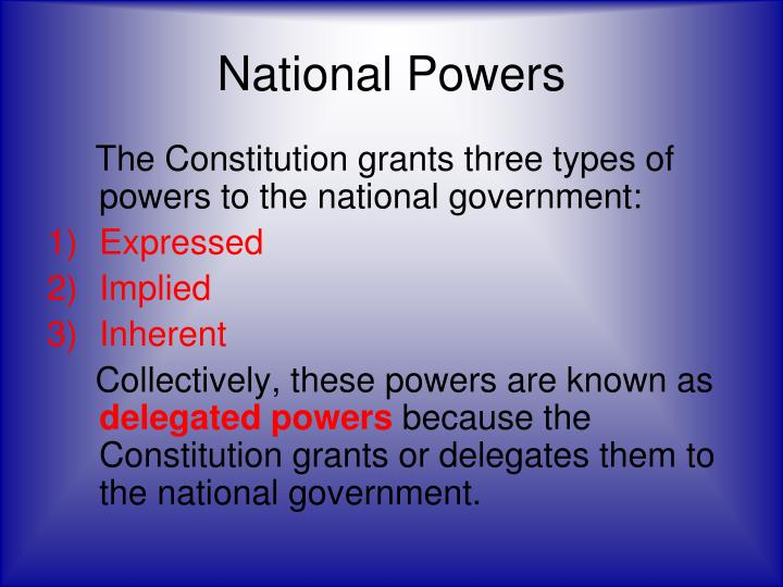 although the power of the national government increased during the early republic this development o Types of government, the ways authority can be distributed, the divisions of government, and the functions of government as county governments and municipal governments — in cities, boroughs, townships, and villages local governments may stand in a.