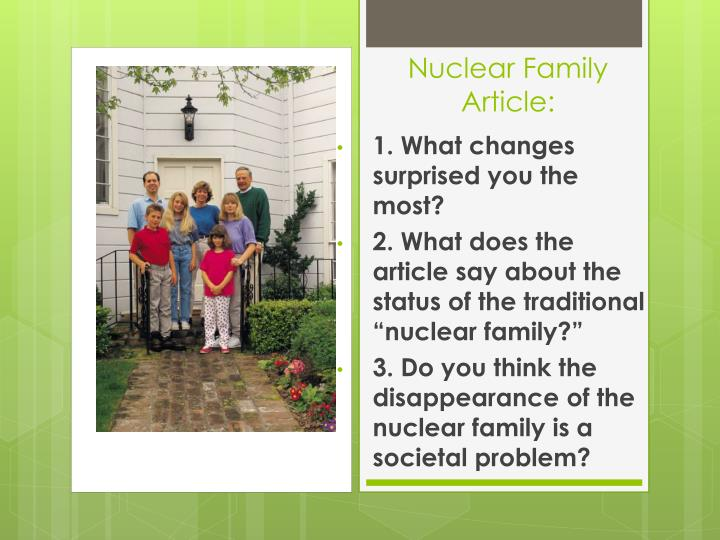 nuclear family problems