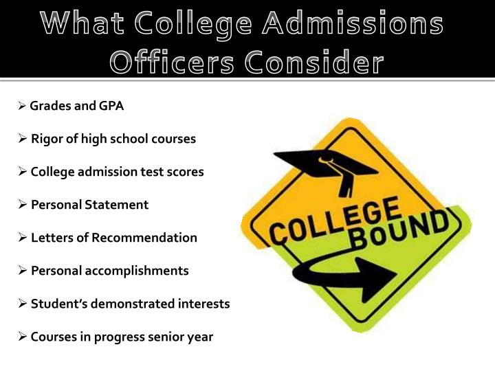 What College Admissions