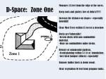 d space zone one