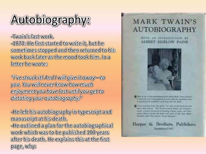 a biography of samual langhorne clemens mark twain a writer