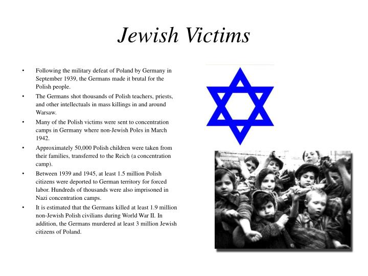Jewish Victims