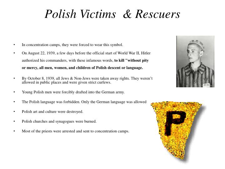 Polish Victims  & Rescuers