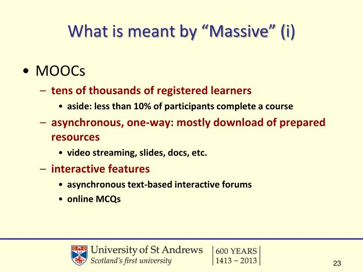 "What is meant by ""Massive"" ("