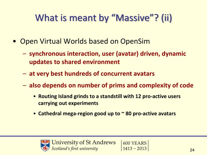 "What is meant by ""Massive""? (ii)"