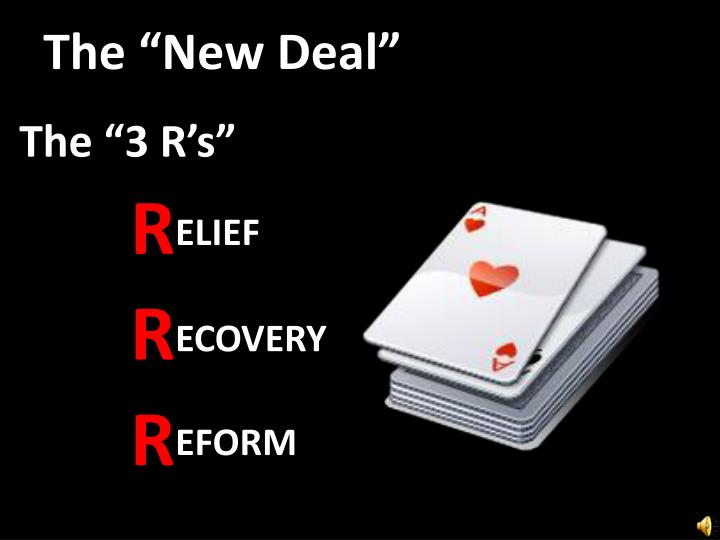 """The """"New Deal"""""""