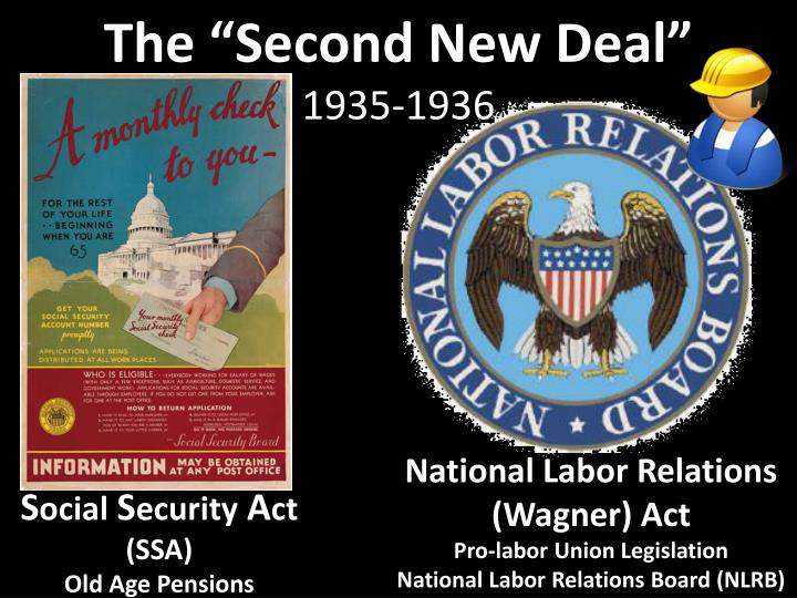 """The """"Second New Deal"""""""
