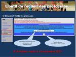 l outil de recueil des protocoles3