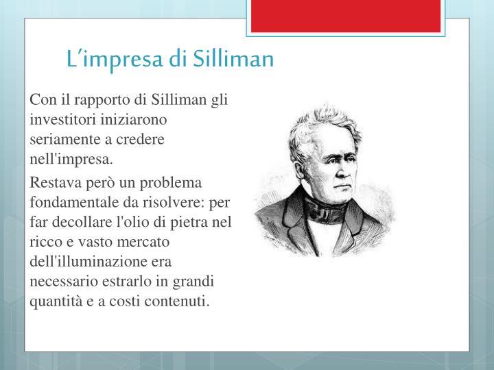 L impresa di silliman