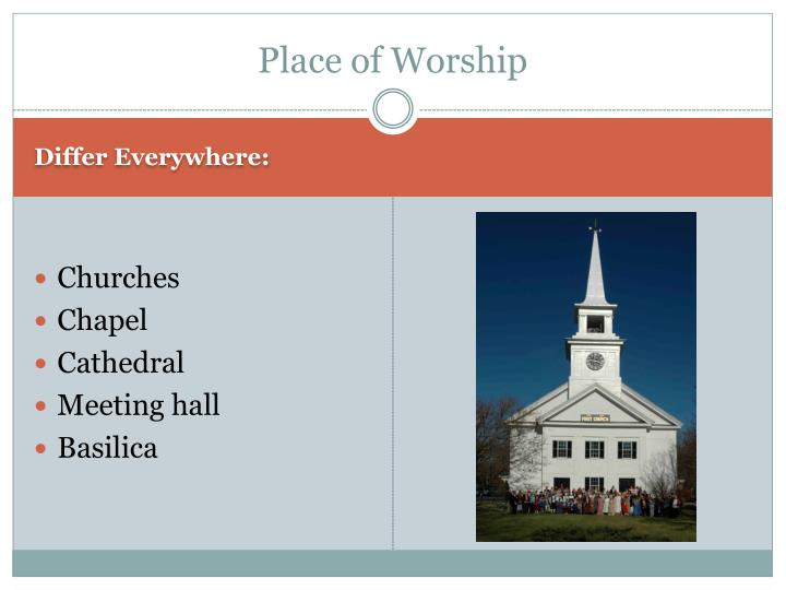 Place of Worship