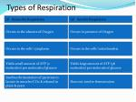 types of respiration1