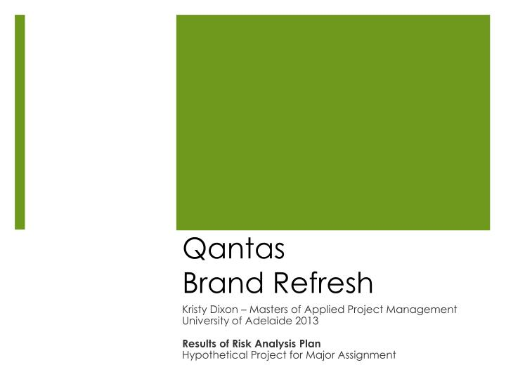 auditing assignment qantas Marketing planning and auditing 4 swot analysis 5 essay about qantas marketing marketing clay gervais assignment - qantas you're the reason we fly.