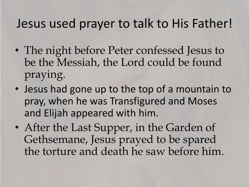 PPT - Jesus Teaches us to Pray PowerPoint Presentation - ID